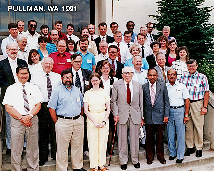 1991 AAVA Meeting Group Photo