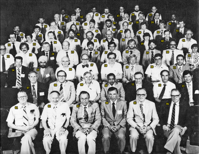 1983 AAVA Meeting Group Photo - Cornell